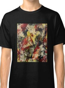 Abstract Yellow & Black Classic T-Shirt