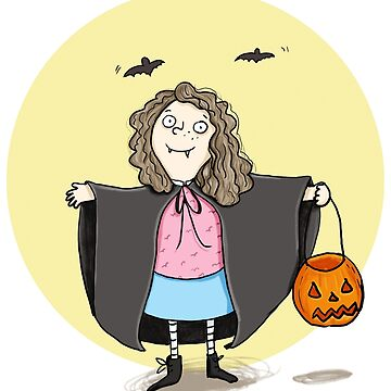 Vampire girl Halloween is great by Tessa-Rath