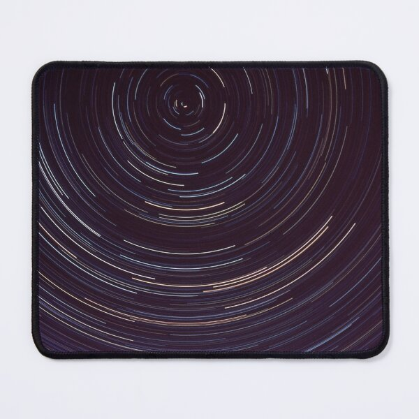 Star trails around south celestial pole Mouse Pad