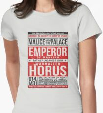 Malice Above The Palace Women's Fitted T-Shirt