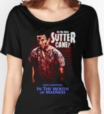 Sutter Cane John Carpenter Horror Movie T-Shirt Women's Relaxed Fit T-Shirt