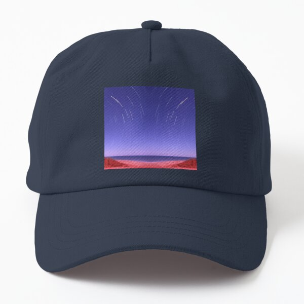 Star trails on Kimberley coast abstract Dad Hat