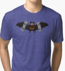 Do-It-Yourself Bat Logo Tri-blend T-Shirt