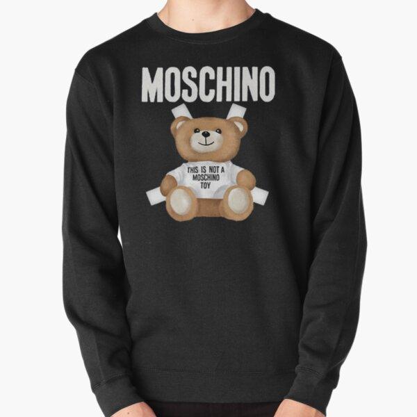 MOSCHINO Teddy Bear Mens Black Pullover Sweatshirt