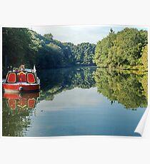 River Boat Poster