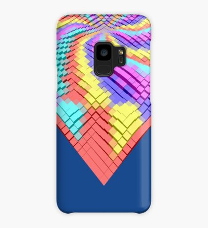 Cube Hero #Fractal Case/Skin for Samsung Galaxy