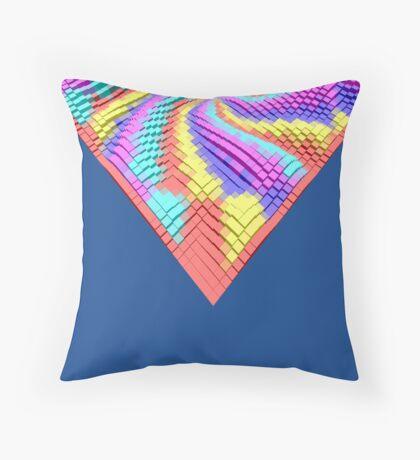Cube Hero #Fractal Throw Pillow