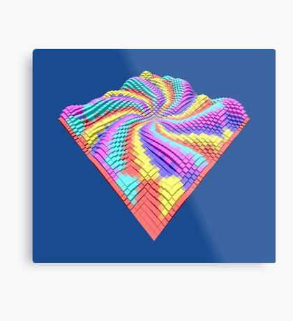 Cube Hero #Fractal Metal Print