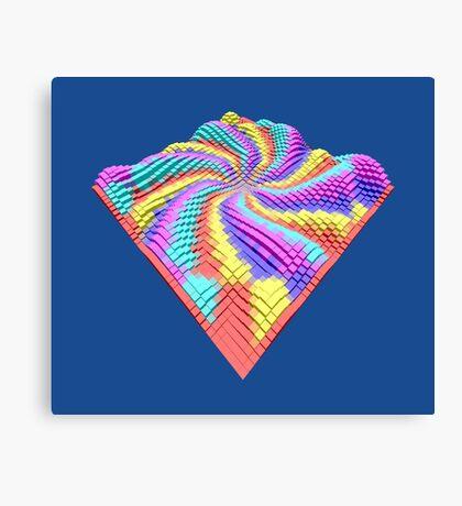 Cube Hero #Fractal Canvas Print