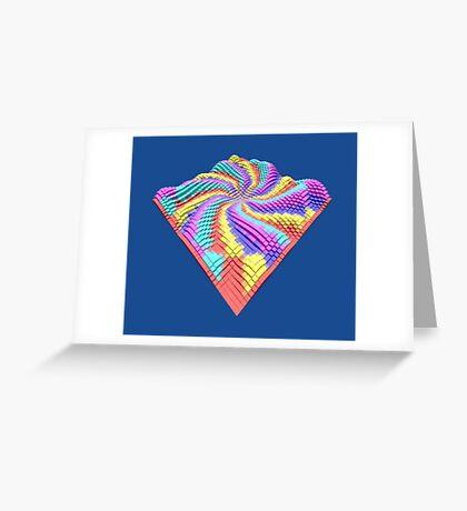 Cube Hero #Fractal Greeting Card