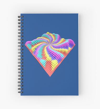 Cube Hero #Fractal Spiral Notebook