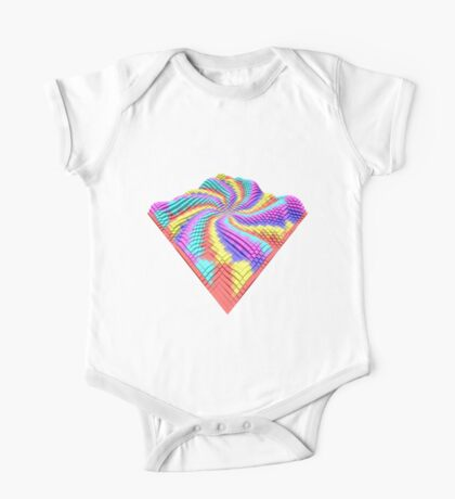 Cube Hero #Fractal Kids Clothes