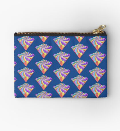 Cube Hero #Fractal Zipper Pouch