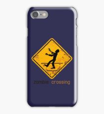 Zombie Crossing iPhone Case/Skin