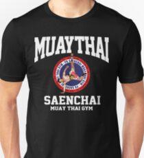 CARTWHEEL KICK PK SAENCHAI MUAY THAI BOXING GYM LUMPINEE CHAMPION  Unisex T-Shirt