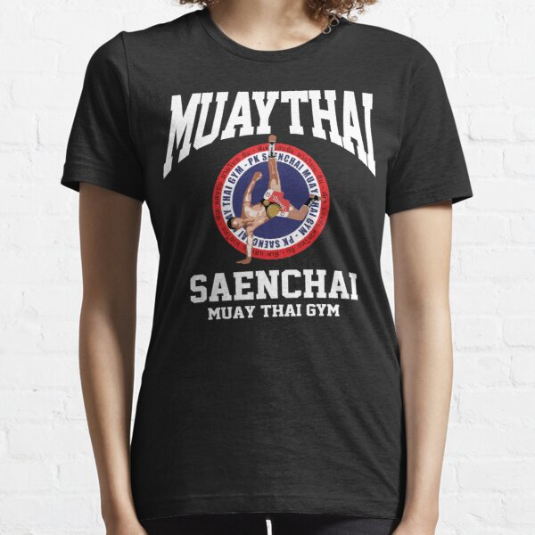 CARTWHEEL KICK PK SAENCHAI MUAY THAI BOXING GYM LUMPINEE CHAMPION  Essential T-Shirt