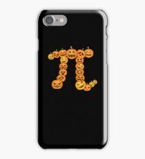 Pumpkin Pi Shirt - Funny Pumpkin Shirt For Halloween - Pi Day Shirt iPhone Case/Skin