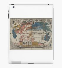 A view of the people of the world - Anon - 1870 iPad Case/Skin