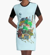 Howl's Moving Castle.. Graphic T-Shirt Dress