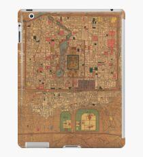 Vintage Map of Beijing China (1914) iPad Case/Skin