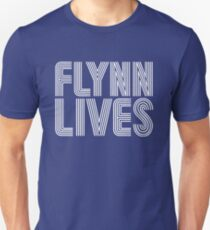 FLYNN LIVES - TRON MOVIE T-Shirt