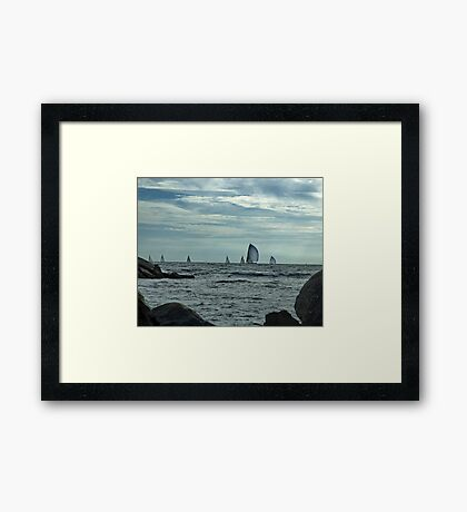 Afternoon Sail Framed Print