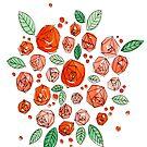 Abstract Roses by Mariewsart