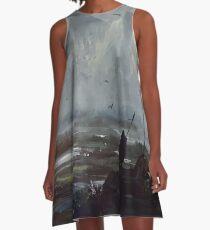 Ashfall A-Line Dress