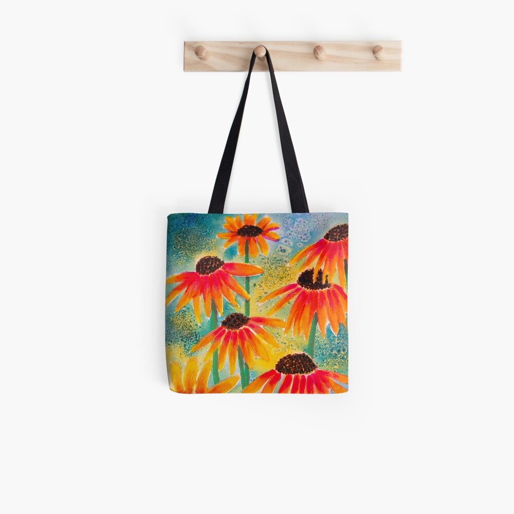 Last Coneflowers Tote Bag