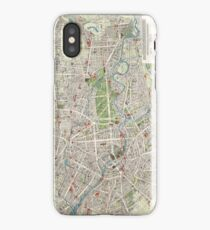 Vintage Map of Berlin Germany (1905) iPhone Case/Skin
