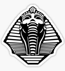 Sphinx Head Silhouette Sticker