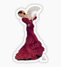 Beautiful Dancer Sticker