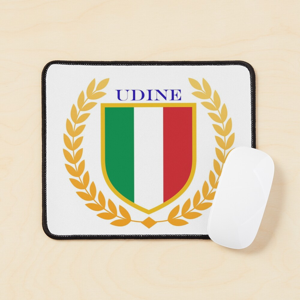 Udine Italy Mouse Pad
