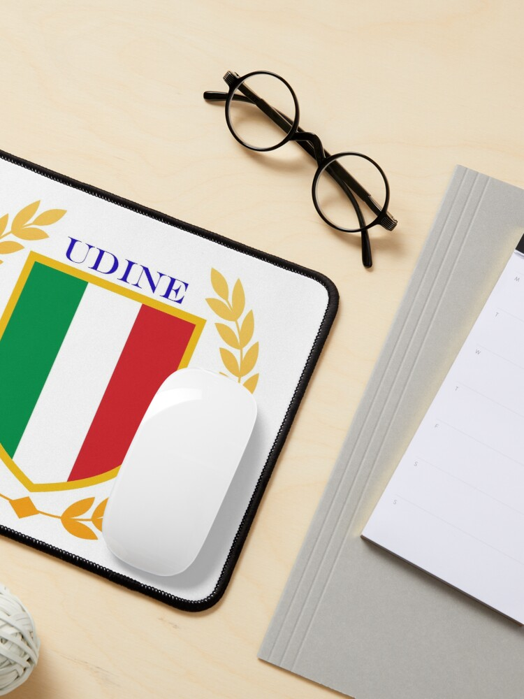 Alternate view of Udine Italy Mouse Pad