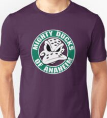 MIGHTY DUCKS OF ANAHEIM RETRO (1) Unisex T-Shirt