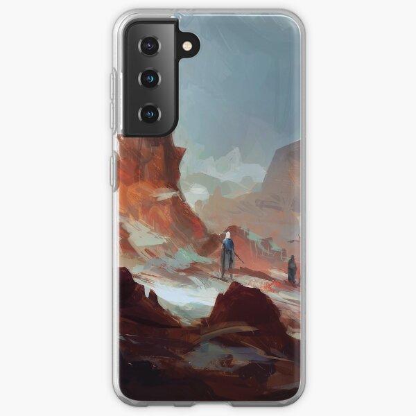 Red Mountains Samsung Galaxy Soft Case