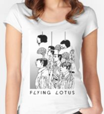 The Protest - Flying Lotus Women's Fitted Scoop T-Shirt