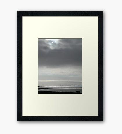 Hazy Morning Framed Print