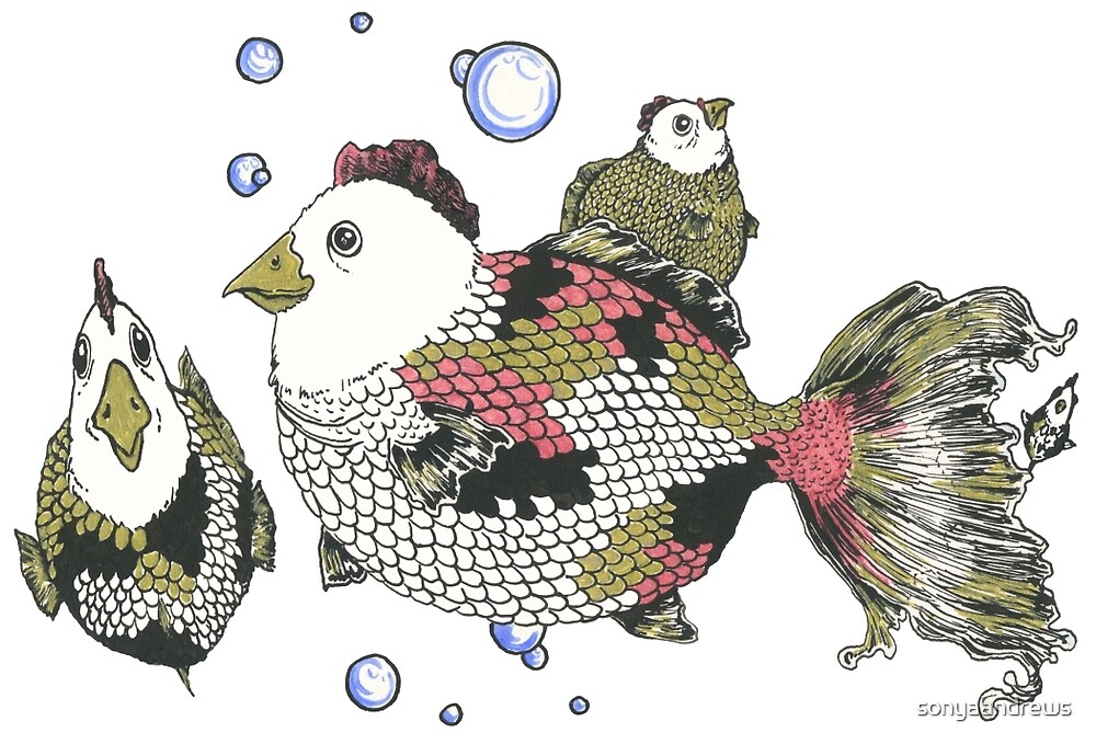 Chickens of the Sea by sonyaandrews