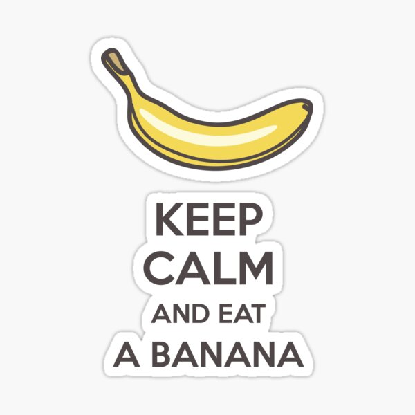 Bananas Everywhere Sticker