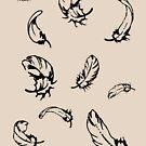 Feathers Falling by Denis Marsili