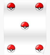 pokemon ball Poster