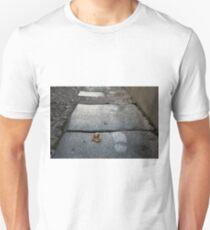hoja y huellas T-Shirt