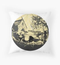 Could be raining Throw Pillow