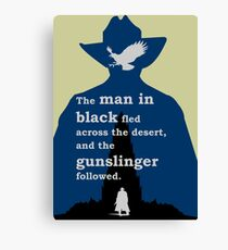Dark Tower - Gunslinger Canvas Print