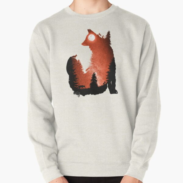 In the Swaying Forest Trees Pullover Sweatshirt