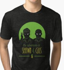 The Adventures of Shawn and Gus Tri-blend T-Shirt