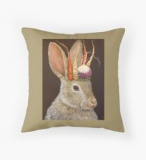 Garden King Throw Pillow