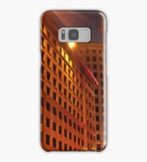Downtown at night Samsung Galaxy Case/Skin