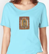 Lady of Guadalupe Women's Relaxed Fit T-Shirt